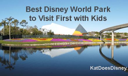 Best Disney World Park to Visit First with Kids