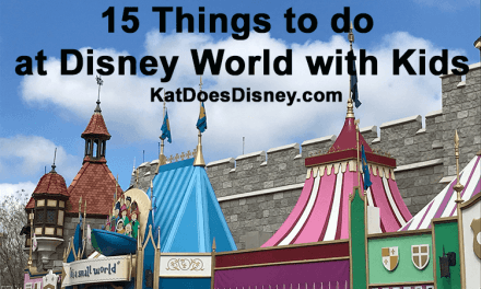 15 Things to do at Disney World with Kids