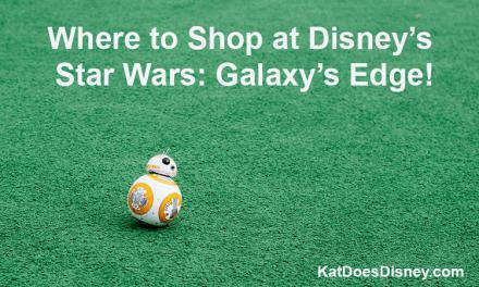 Where to Shop at Disney's Star Wars: Galaxy's Edge!