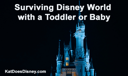 Surviving Disney World with a Toddler or Baby