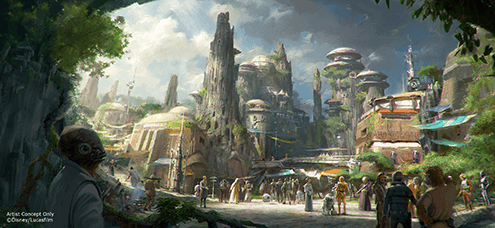 Anticipating Star Wars Galaxy's Edge at Disney World and Disneyland