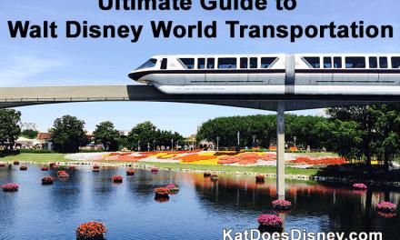 Ultimate Guide to Walt Disney World Transportation