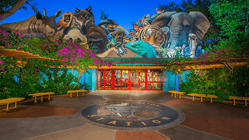 New Animation Experience at Animal Kingdom