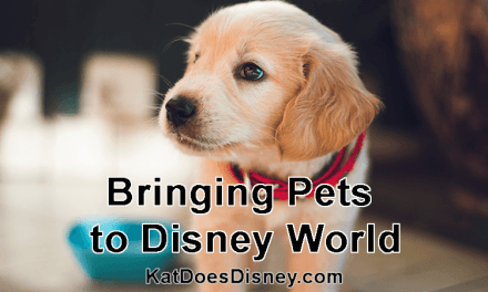 Bringing Pets to Disney World