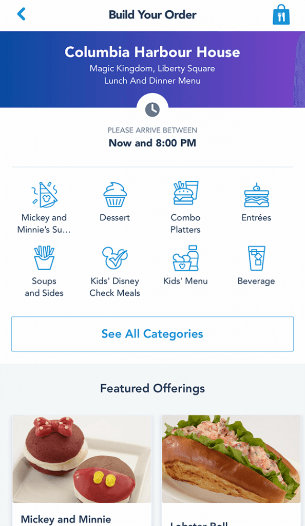 Guide to Disney World Mobile Ordering
