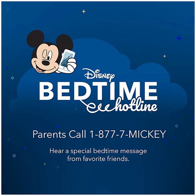 Disney Bedtime Hotline